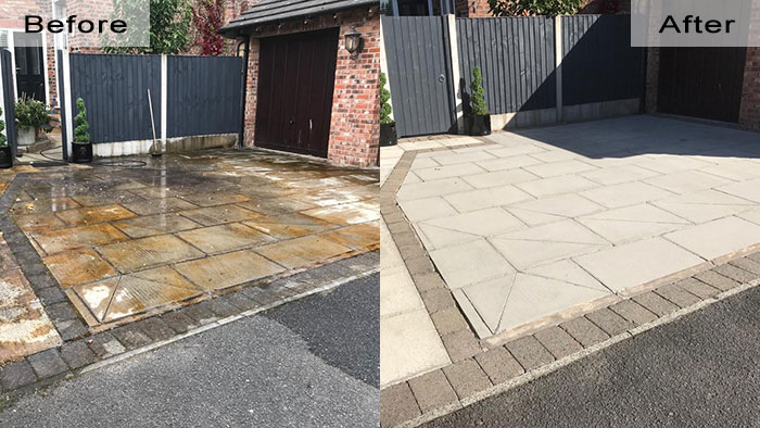 Driveways Cleaning